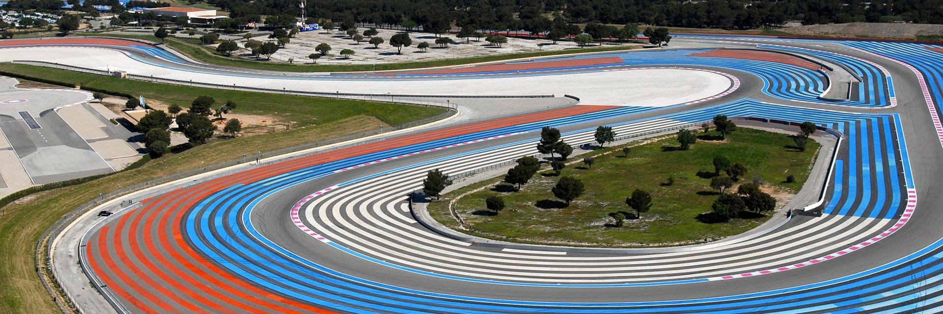 Paul Ricard race track in Castellet