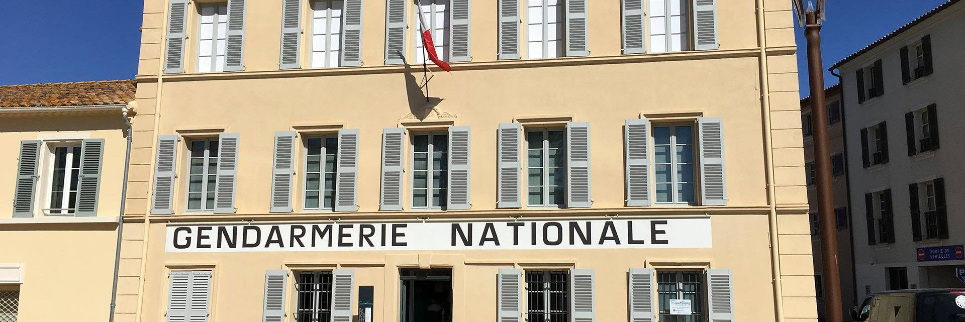 The Gendarmerie and Cinema Museum in Saint Tropez