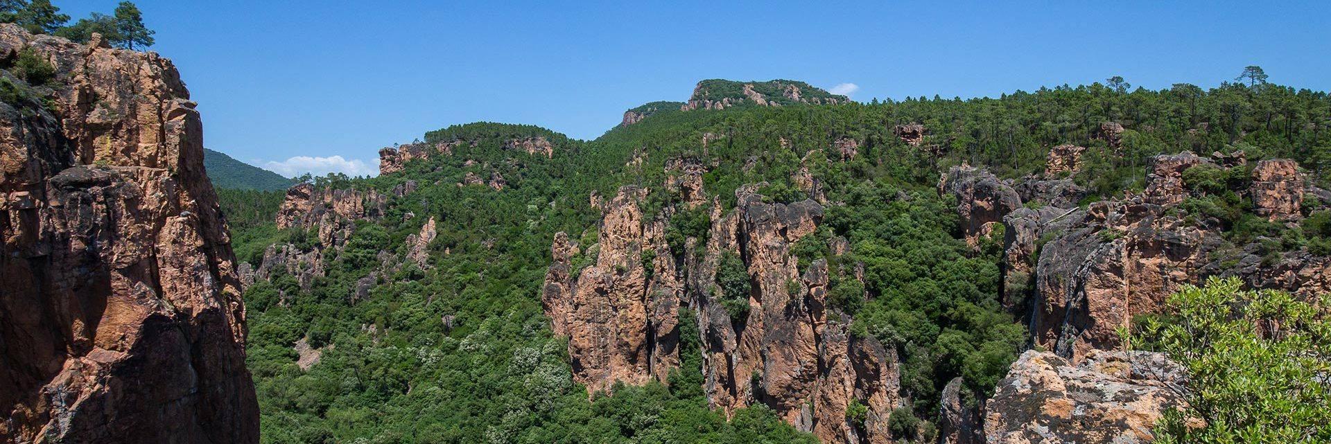 Blavet Gorges in Bagnols-en-Forêt