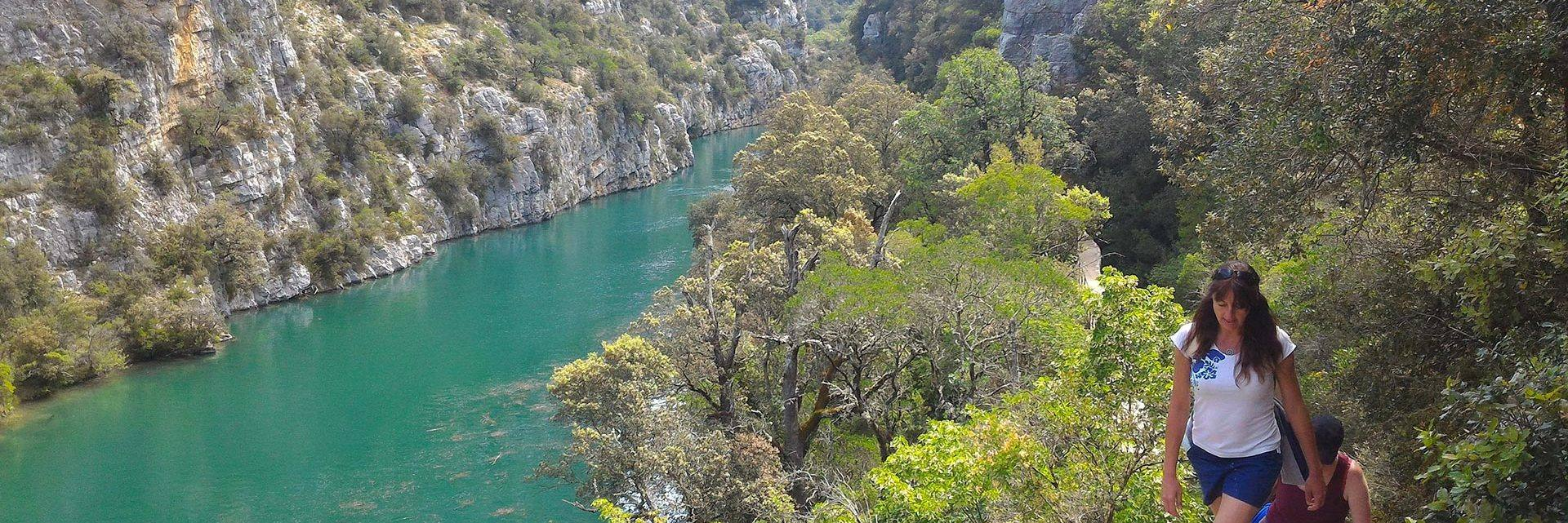 Hiking in the Verdon Gorges