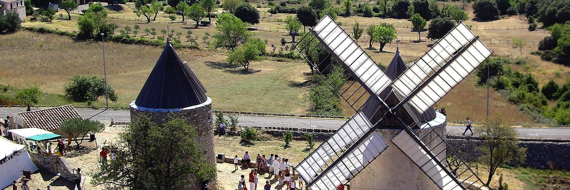 Fête des moulins à Régusse