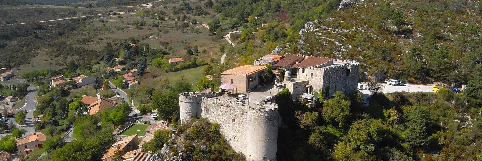 Le château de Trigance