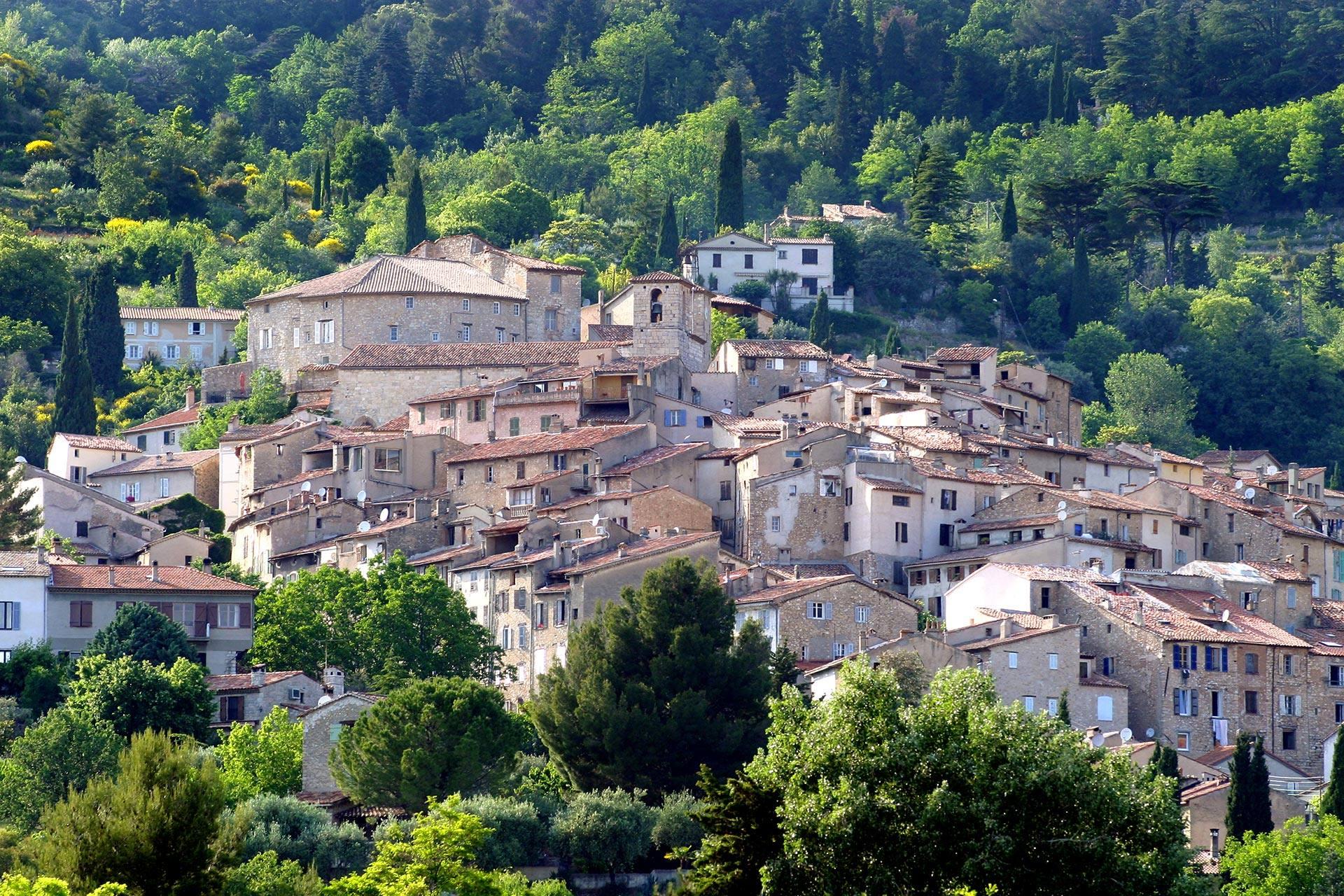 Seillans le charme d 39 un village perch proven al - Les plus beau village du var ...