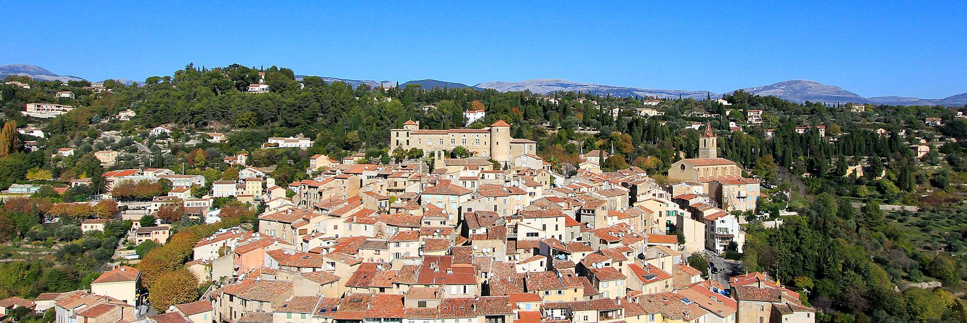 Callian, a hilltop village in the Pays de Fayence