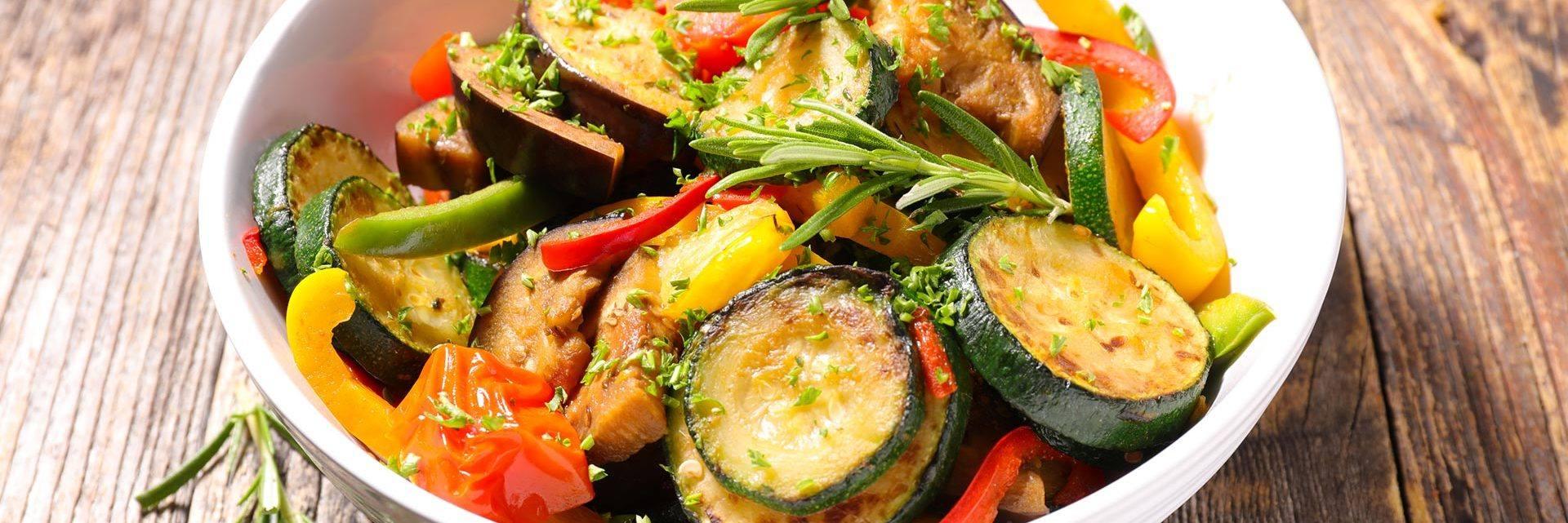 Ratatouille - repas incontournable de la Provence