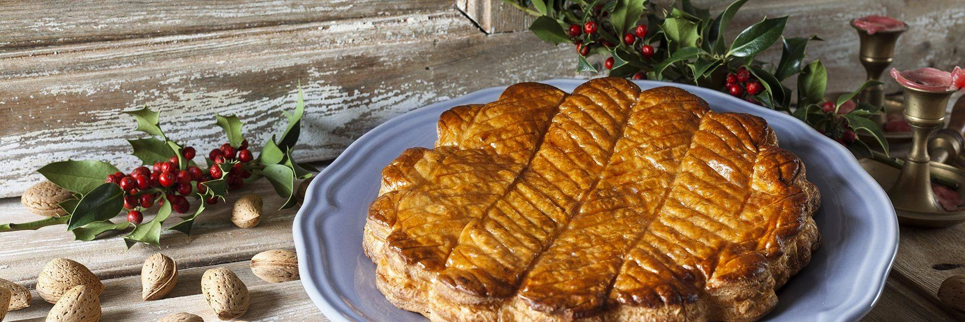 Frangipane - a traditional Christmas treat
