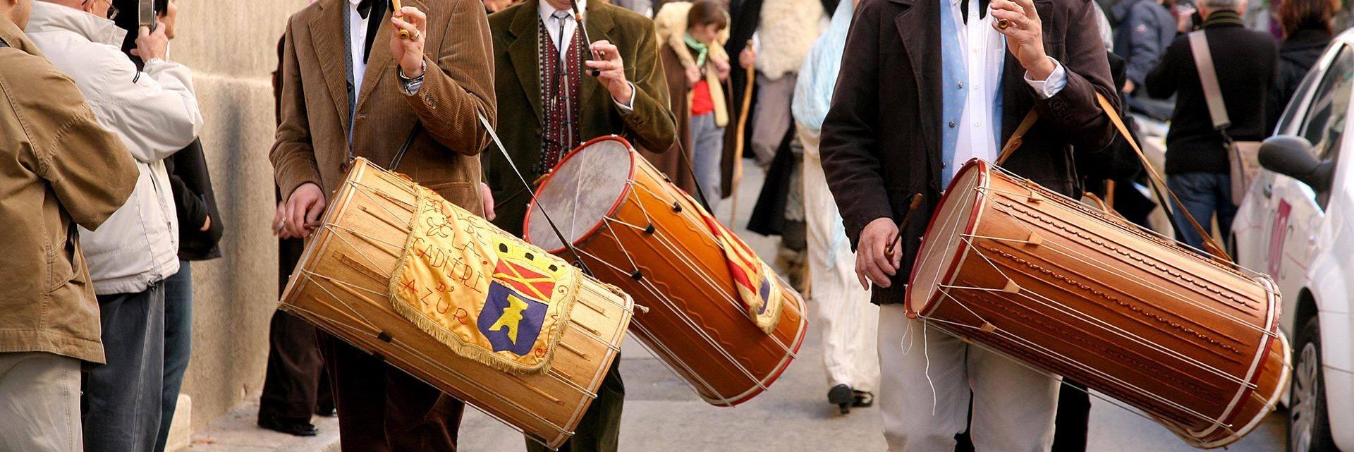 Santon festival in Cadière d'Azur