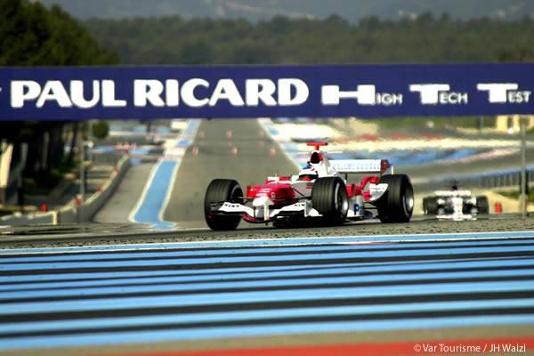 Formule 1 au circuit Paul Ricard au Castellet
