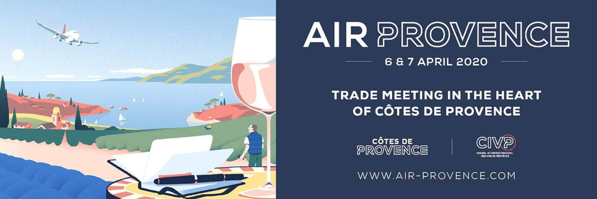 AIR PROVENCE, wine trade meeting