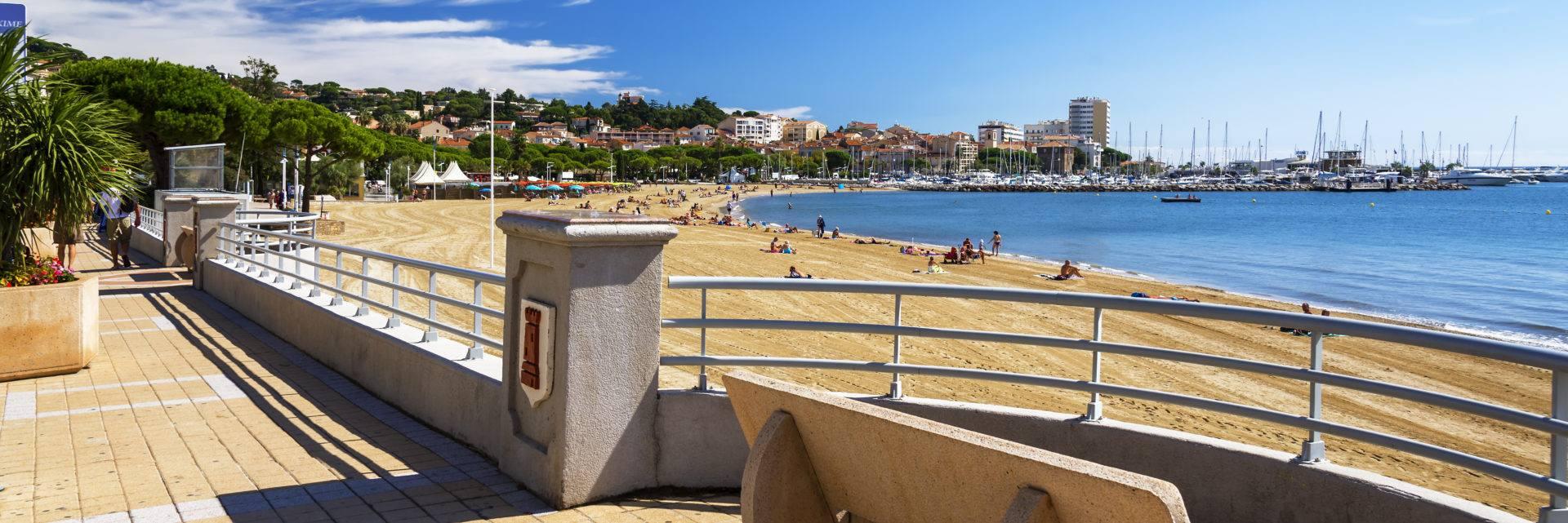 Sainte Maxime dans le Golfe de Saint-Tropez